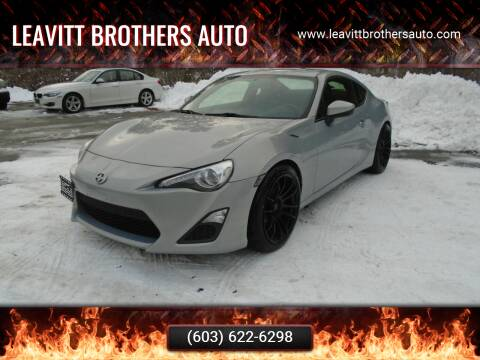 2013 Scion FR-S for sale at Leavitt Brothers Auto in Hooksett NH