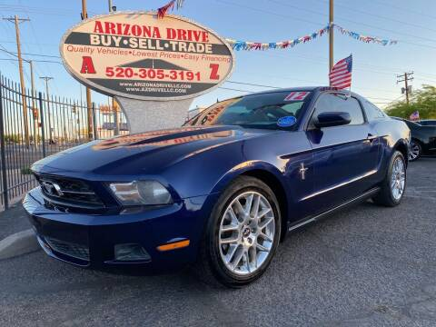 2012 Ford Mustang for sale at Arizona Drive LLC in Tucson AZ