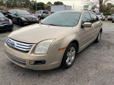 2008 Ford Fusion for sale at ATLANTA AUTO WAY in Duluth GA