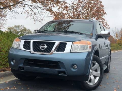 2010 Nissan Armada for sale at William D Auto Sales in Norcross GA