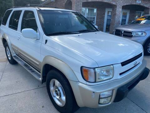 1999 Infiniti QX4 for sale at MITCHELL AUTO ACQUISITION INC. in Edgewater FL