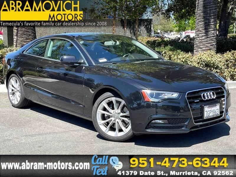 2014 Audi A5 for sale in Murrieta, CA