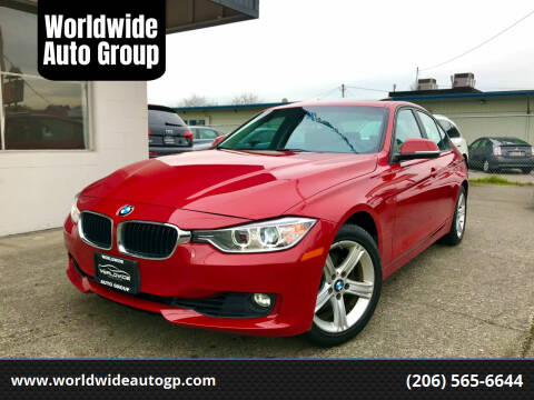 2015 BMW 3 Series for sale at Worldwide Auto Group in Auburn WA