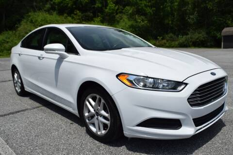 2016 Ford Fusion for sale at CAR TRADE in Slatington PA