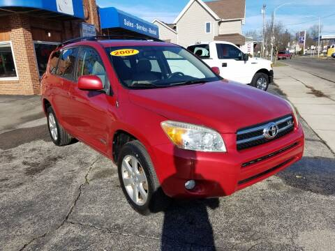 2007 Toyota RAV4 for sale at BELLEFONTAINE MOTOR SALES in Bellefontaine OH