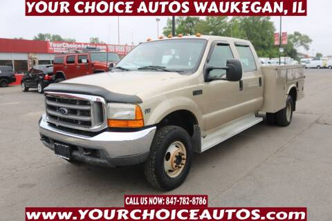 2001 Ford F-350 Super Duty for sale at Your Choice Autos - Waukegan in Waukegan IL