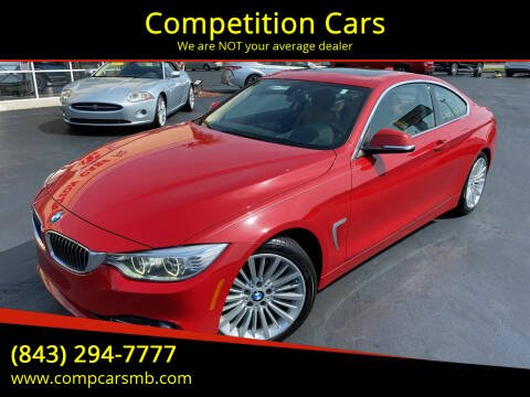 2014 BMW 4 Series for sale at Competition Cars in Myrtle Beach SC