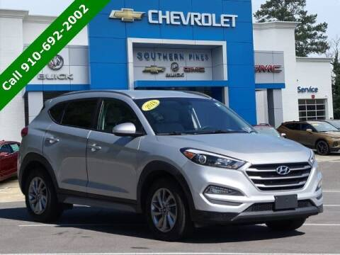 2018 Hyundai Tucson for sale at PHIL SMITH AUTOMOTIVE GROUP - SOUTHERN PINES GM in Southern Pines NC