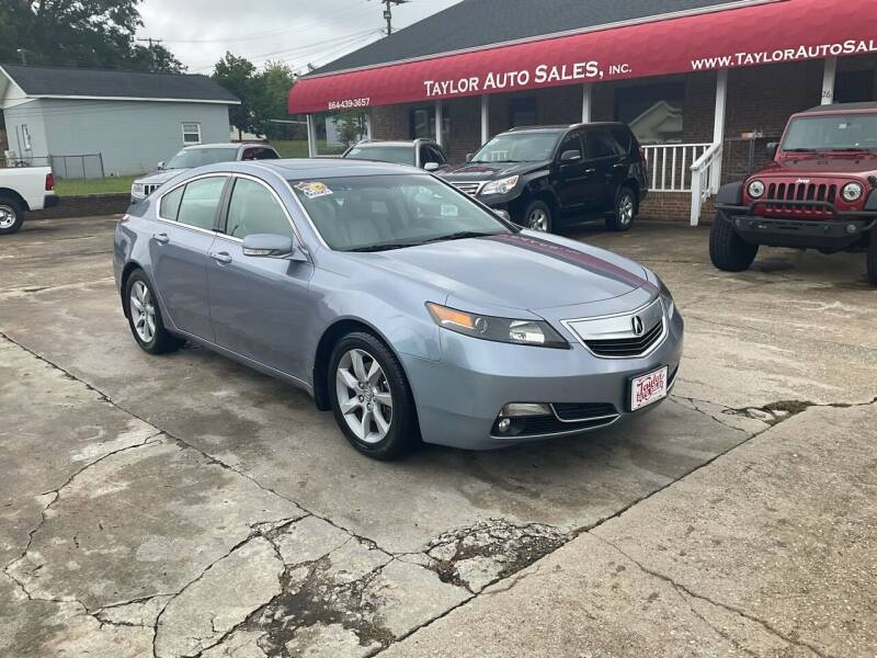 2012 Acura TL for sale at Taylor Auto Sales Inc in Lyman SC