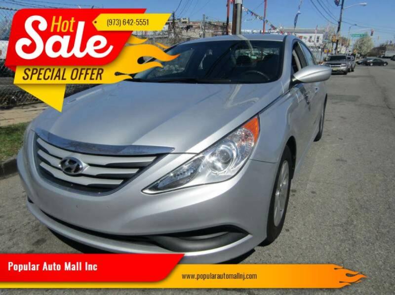2014 Hyundai Sonata for sale at Popular Auto Mall Inc in Newark NJ