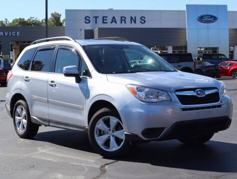 2015 Subaru Forester for sale at Stearns Ford in Burlington NC