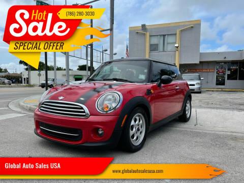 2013 MINI Hardtop for sale at Global Auto Sales USA in Miami FL