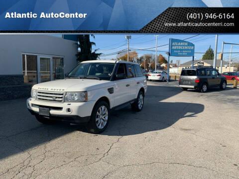 2009 Land Rover Range Rover Sport for sale at Atlantic AutoCenter in Cranston RI