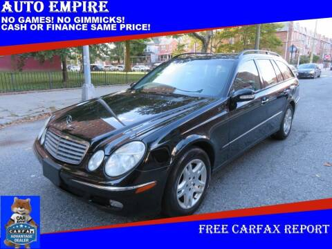 2004 Mercedes-Benz E-Class for sale at Auto Empire in Brooklyn NY