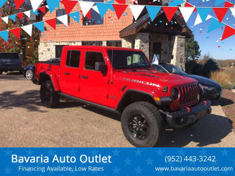 2020 Jeep Gladiator for sale at Bavaria Auto Outlet in Victoria MN