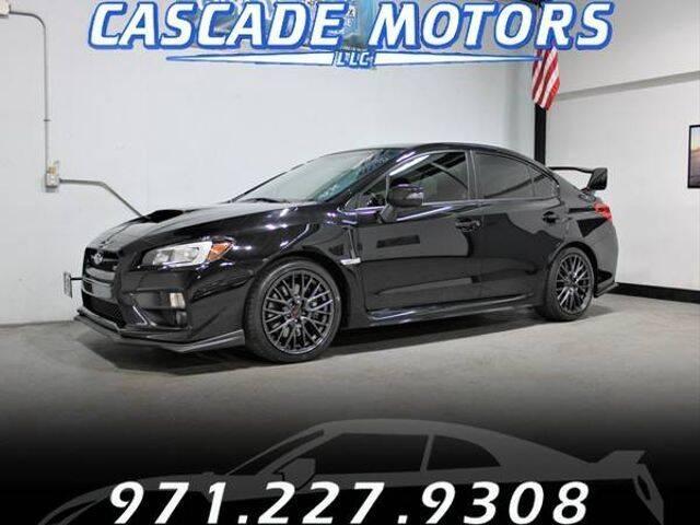 2016 Subaru WRX for sale at Cascade Motors in Portland OR