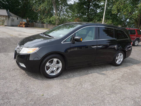2012 Honda Odyssey for sale at Colonial Motors in Mine Hill NJ