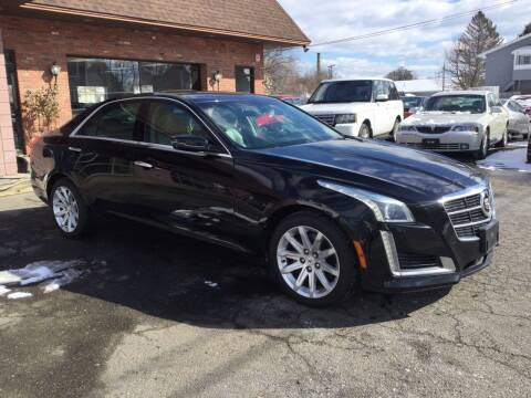 2014 Cadillac CTS for sale at Pat's Auto Sales, Inc. in West Springfield MA