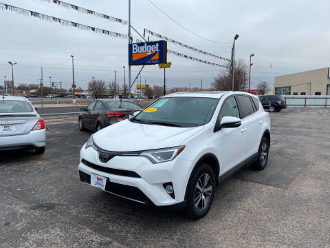 2018 Toyota RAV4 for sale at BUDGET CAR SALES in Amarillo TX