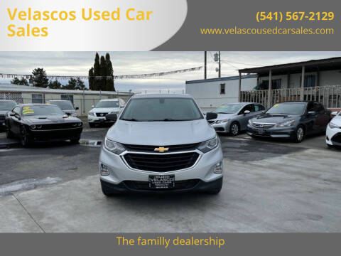 2019 Chevrolet Equinox for sale at Velascos Used Car Sales in Hermiston OR