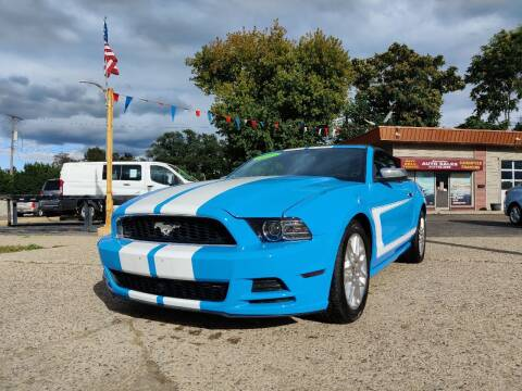 2013 Ford Mustang for sale at Lamarina Auto Sales in Dearborn Heights MI
