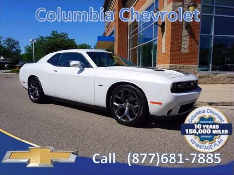 2015 Dodge Challenger for sale at COLUMBIA CHEVROLET in Cincinnati OH
