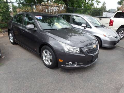 2011 Chevrolet Cruze for sale at CAR CORNER RETAIL SALES in Manchester CT
