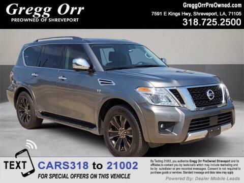 2018 Nissan Armada for sale at Gregg Orr Pre-Owned Shreveport in Shreveport LA
