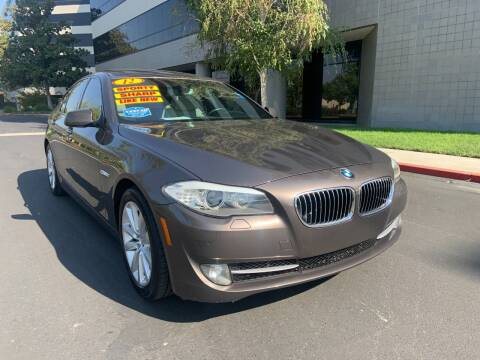 2012 BMW 5 Series for sale at Right Cars Auto Sales in Sacramento CA