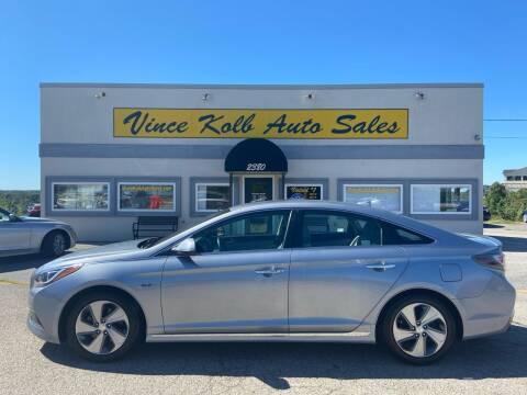 2016 Hyundai Sonata Hybrid for sale at Vince Kolb Auto Sales in Lake Ozark MO