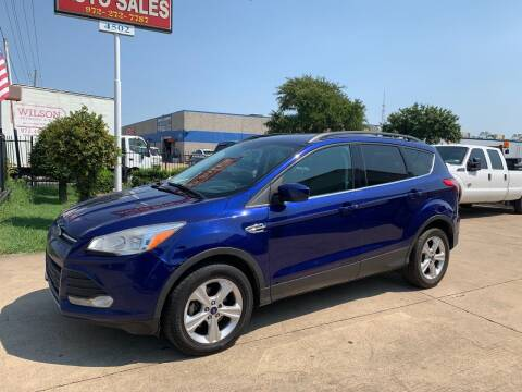 2016 Ford Escape for sale at SP Enterprise Autos in Garland TX