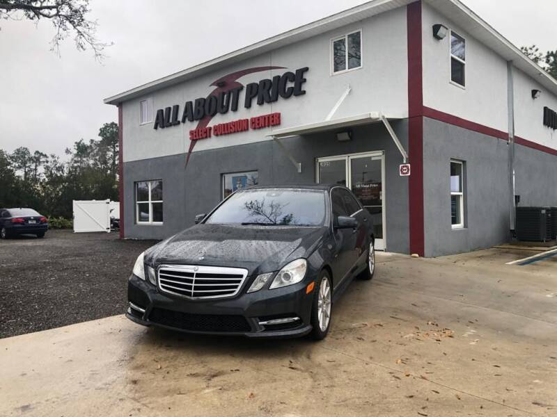 2012 Mercedes-Benz E-Class for sale at All About Price in Bunnell FL