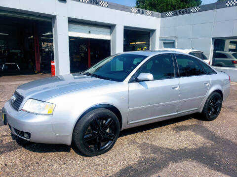 2002 Audi A6 for sale at J & M PRECISION AUTOMOTIVE, INC in Fort Collins CO