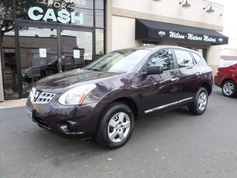 2013 Nissan Rogue for sale at Wilson-Maturo Motors in New Haven Ct CT