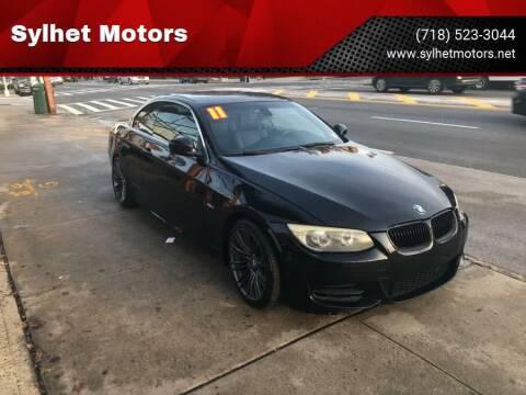 2011 BMW 3 Series for sale at Sylhet Motors in Jamacia NY