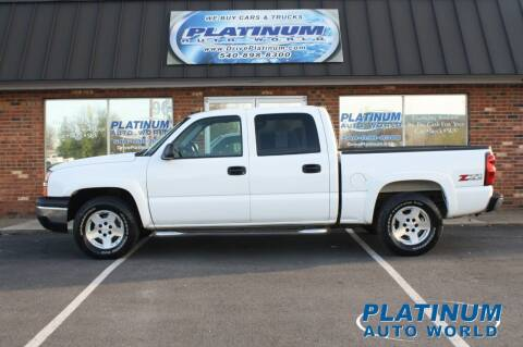 2005 Chevrolet Silverado 1500 for sale at Platinum Auto World in Fredericksburg VA