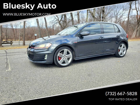 2015 Volkswagen Golf GTI for sale at Bluesky Auto in Bound Brook NJ