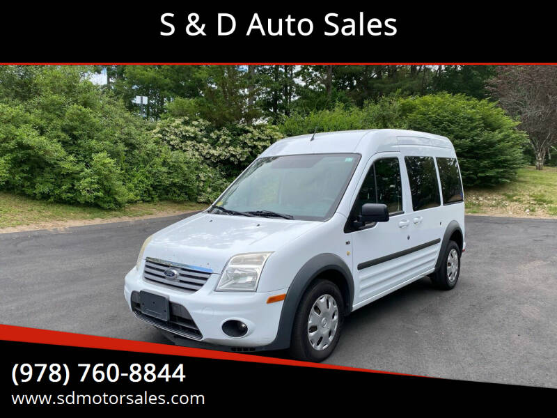 2013 Ford Transit Connect for sale at S & D Auto Sales in Maynard MA