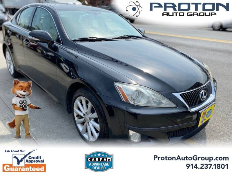 2009 Lexus IS 250 for sale at Proton Auto Group in Yonkers NY