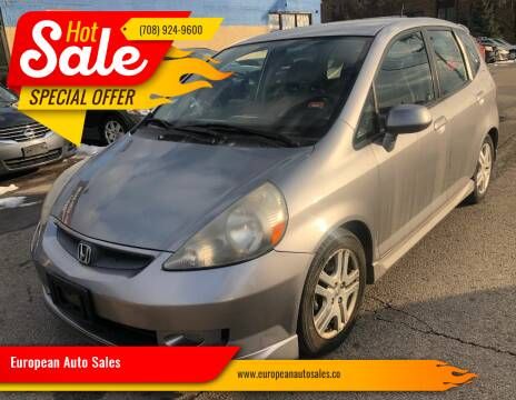 2008 Honda Fit for sale at European Auto Sales in Bridgeview IL