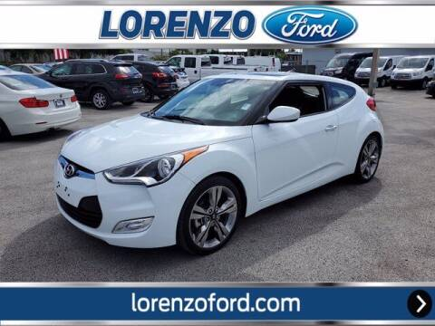 2017 Hyundai Veloster for sale at Lorenzo Ford in Homestead FL