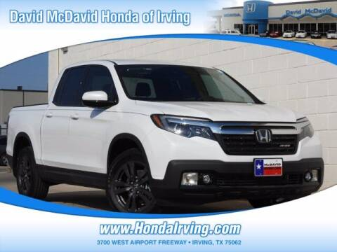 2020 Honda Ridgeline for sale at DAVID McDAVID HONDA OF IRVING in Irving TX
