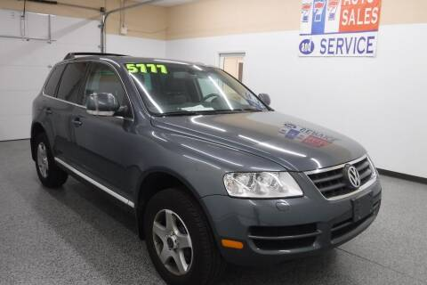2005 Volkswagen Touareg for sale at 777 Auto Sales and Service in Tacoma WA