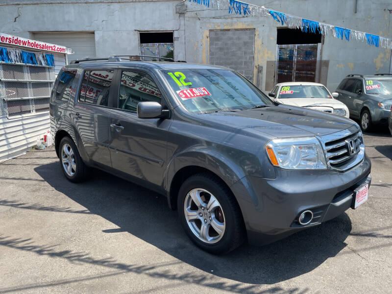 2012 Honda Pilot for sale at Riverside Wholesalers 2 in Paterson NJ