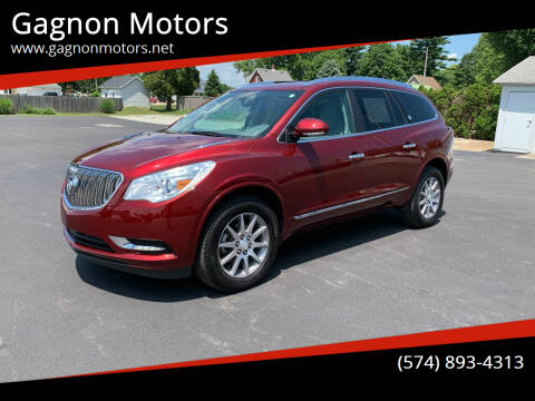 2017 Buick Enclave for sale at Gagnon  Motors - Gagnon Motors in Akron IN