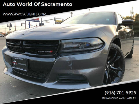 2018 Dodge Charger for sale at Auto World of Sacramento Stockton Blvd in Sacramento CA