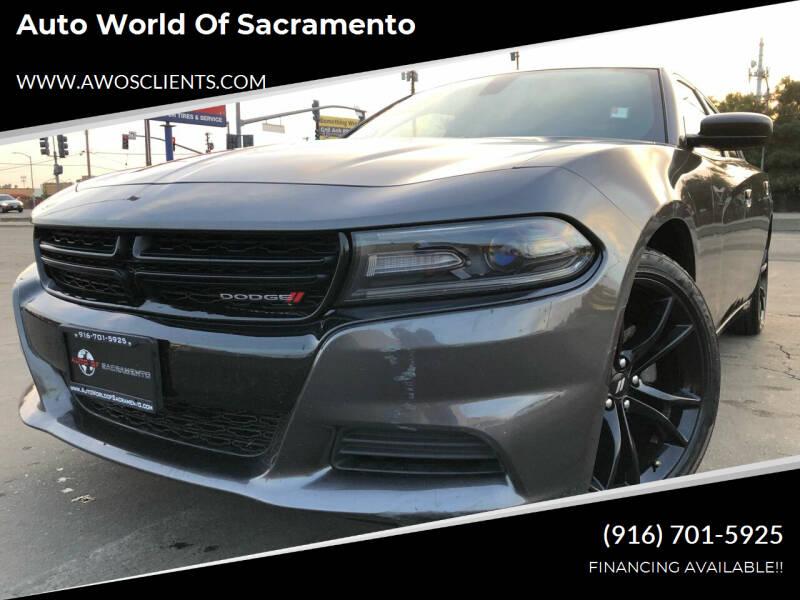 2018 Dodge Charger for sale at Auto World of Sacramento Stockton Blvd in Sacramento CA