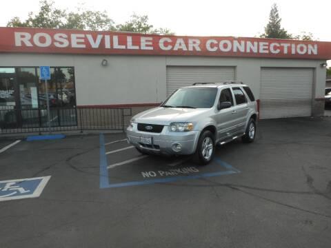 2007 Ford Escape Hybrid for sale at ROSEVILLE CAR CONNECTION in Roseville CA