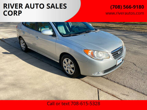 2008 Hyundai Elantra for sale at RIVER AUTO SALES CORP in Maywood IL