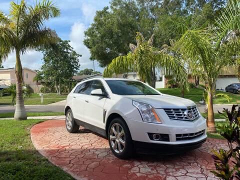 2016 Cadillac SRX for sale at ONYX AUTOMOTIVE, LLC in Largo FL